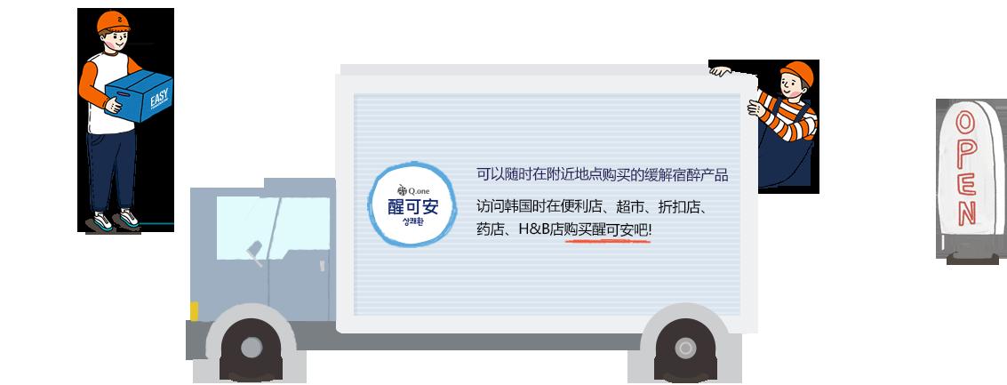 可以随时在附近地点购买的缓解宿醉产品 访问韩国时在便利店、超市、折扣店、药店、H&B店购买醒可安吧!